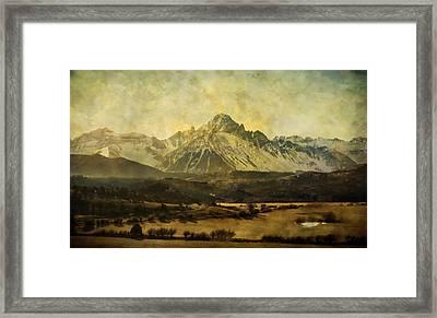 Home Series - The Grandeur Framed Print