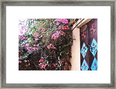 Home Framed Print by Sunaina Serna Ahluwalia