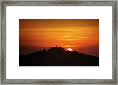 Framed Print featuring the photograph Home Sweet Farm Home by Quality HDR Photography