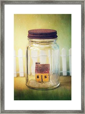 Framed Print featuring the photograph Home Sweet Home by Amy Weiss