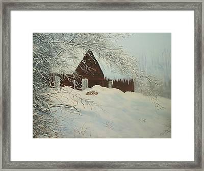 Home Sweet Home Framed Print by Bev  Neely