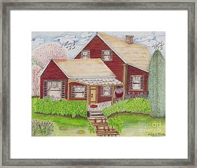 Home-sweet-home Framed Print