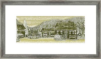 Home Sweet Home Framed Print by Diana-Lee Saville