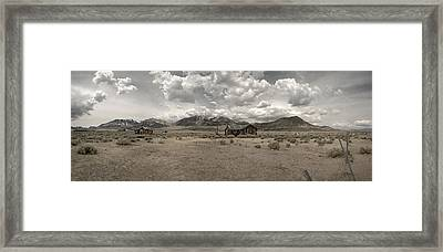 Framed Print featuring the photograph Home Sweet Home by Gary Cloud