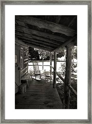 Framed Print featuring the photograph Home Sweet Home by Joanne Coyle