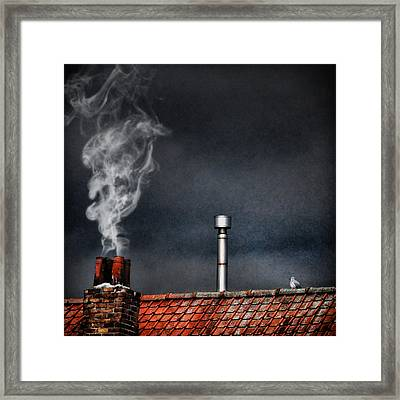 Home Sweet Home Framed Print by Piet Flour
