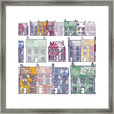 Home Sweet Home Framed Print by Sarah Hough