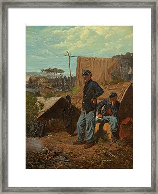 Home, Sweet Home  Framed Print by Winslow Homer