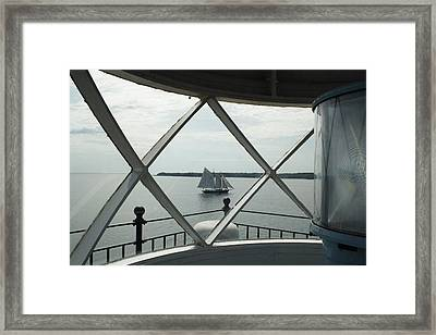 Home To Rockland Framed Print