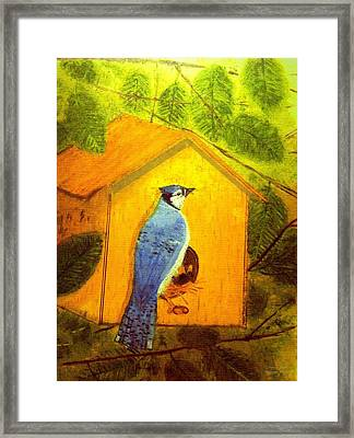 Home Tweet Home Framed Print by Larry E Lamb