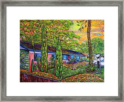 Home Framed Print by Viktor Lazarev