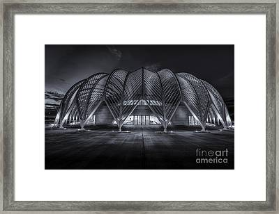 Home Work Time-bw Framed Print by Marvin Spates