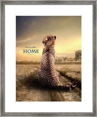 Framed Print featuring the photograph Home2 by Christine Sponchia