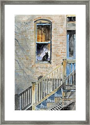 Homecoming Framed Print by Monte Toon