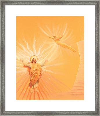 Homecoming To Jesus Framed Print