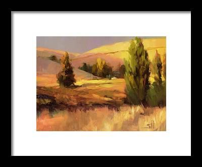 Hay Bale Framed Prints