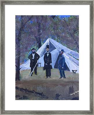 Homeland Security Framed Print by Terry Tuley