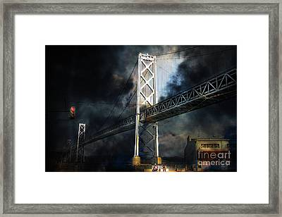 Homeless By The Bay . 7d7748 Framed Print