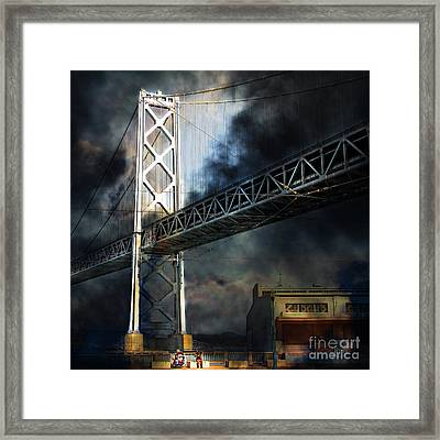 Homeless By The Bay 7d7748 Square Framed Print
