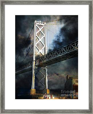 Homeless By The Bay 7d7748 Vertical Framed Print