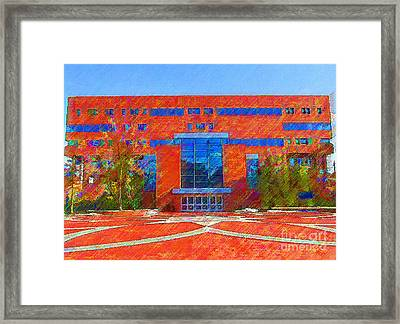 Homer Library Framed Print