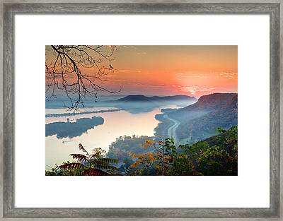 Homer Sunrise Framed Print