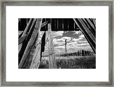 Homestead Framed Print by Bob Christopher
