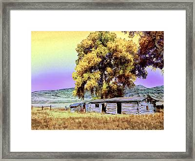 Homestead Framed Print by Dominic Piperata