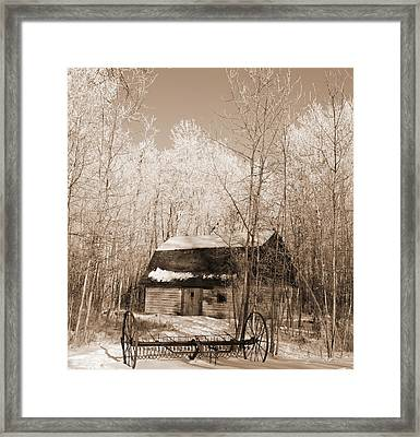 Homestead Framed Print by Pat Purdy
