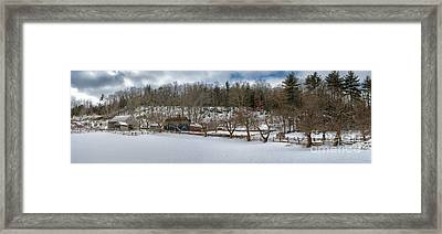Homestead Framed Print by Scott Thorp