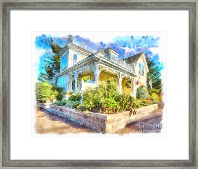 Home,sweet Home Framed Print
