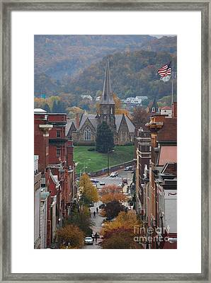 My Hometown Cumberland, Maryland Framed Print