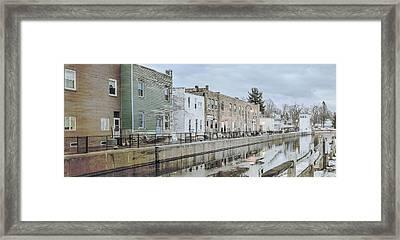 Hometown Memories Framed Print