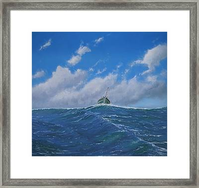 Homeward Bound Framed Print by Paul Newcastle