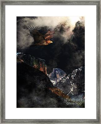 Homeward Bound V2 Framed Print by Wingsdomain Art and Photography