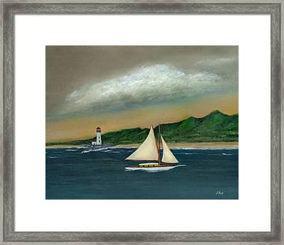 Homeward Framed Print by Gordon Beck