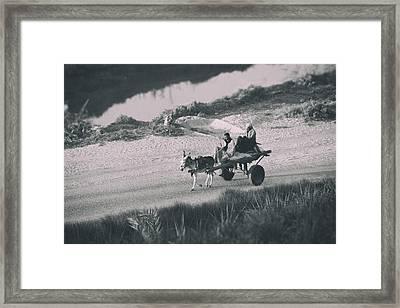 Homewards.. Framed Print