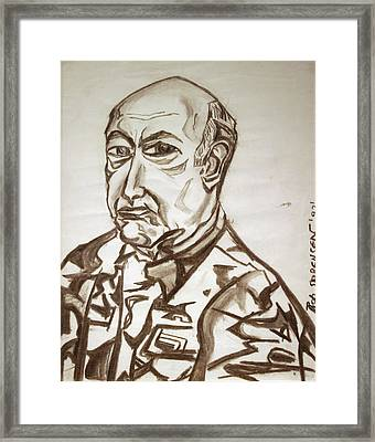 Homme Militaire Framed Print