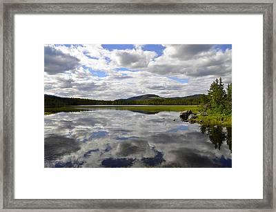 Hon Lake Framed Print