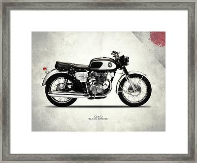 Honda Cb450 1967 Framed Print