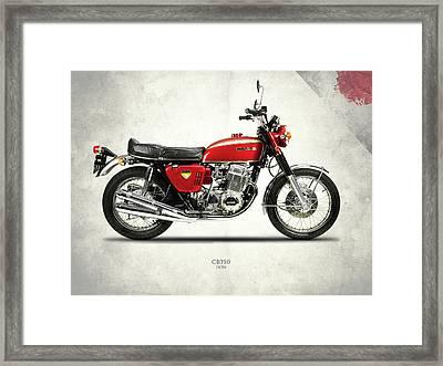 Honda Cb750 1970 Framed Print