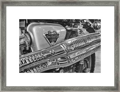 Honda Cl450 Scrambler Framed Print by William Jones