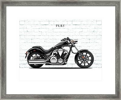 Honda Fury Framed Print
