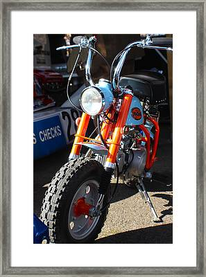 Honda Mini Trail Framed Print
