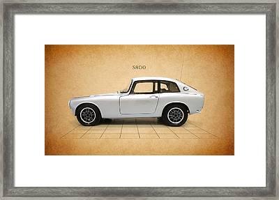 Honda S800 Framed Print by Mark Rogan