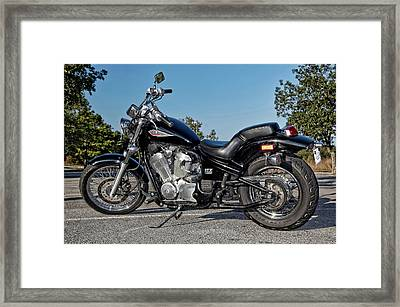 Honda Shadow Framed Print