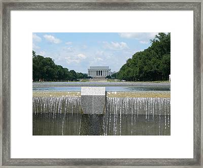Honest Reflections Framed Print