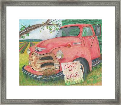 Honey 4 Sale Framed Print
