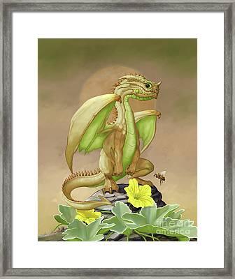 Honey Dew Dragon Framed Print by Stanley Morrison