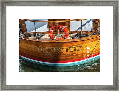 Honey Fitz Framed Print